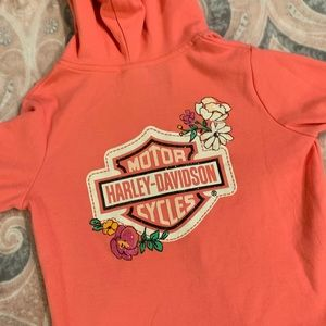 Girls Harley Davidson sweatshirt